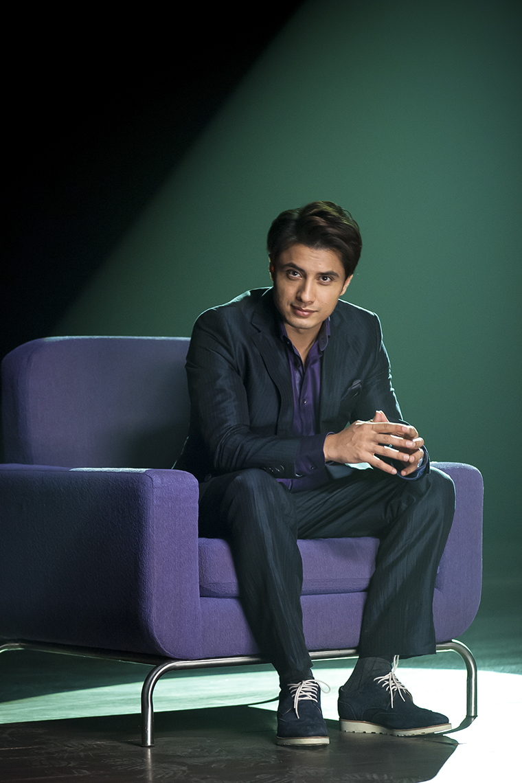 Portrait of Ali Zafar Bollywood and Pakistani Superstar