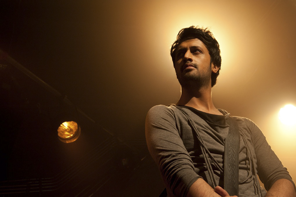 Portrait of Atif Aslam a Pakistani and Bollywood superstar