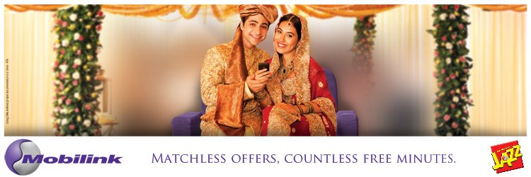 Wedding Mobilink Ad